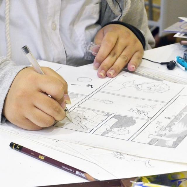 声優アフレコ実習やアニメ・イラスト体験でプロを目指す!