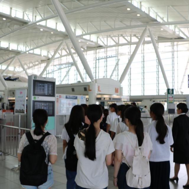 西鉄国際ビジネスカレッジ 1・2年対象!観光の最前線を見学!業界研究型イベント開催2