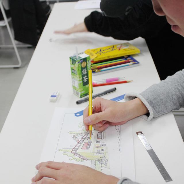 大阪工業技術専門学校 【建築学科】☆体験型オープンキャンパス☆1