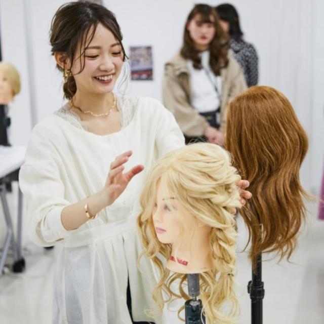 東京ベルエポック美容専門学校 ★高校1・2年生のための体験★オープンキャンパス4