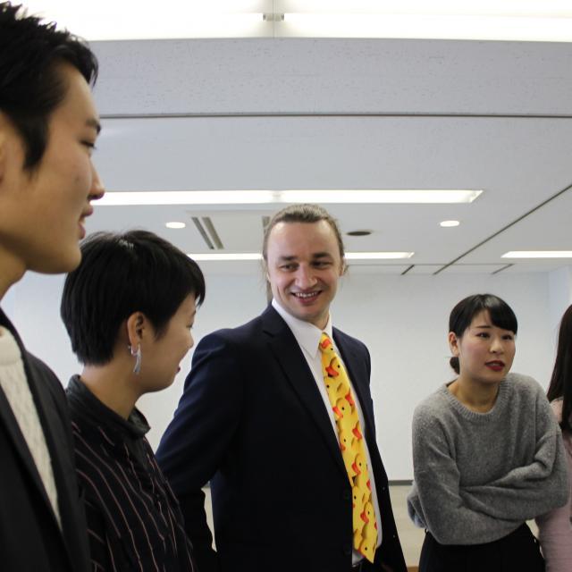 大阪外語専門学校 海外留学フェア2