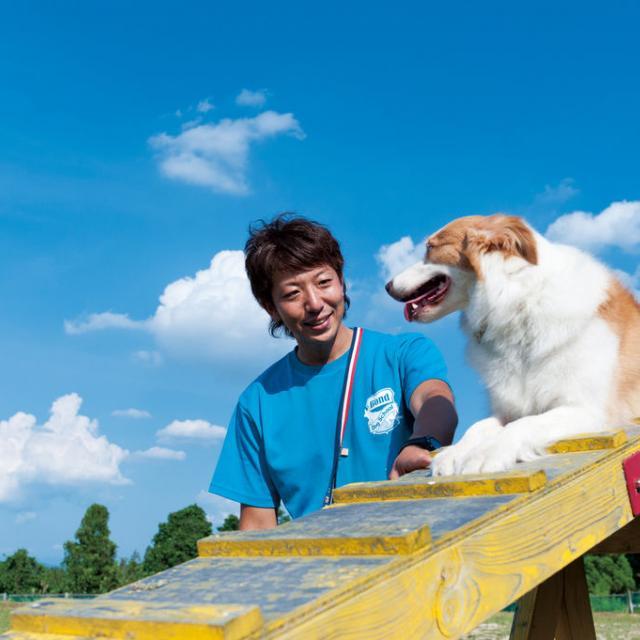 仙台ECO動物海洋専門学校 ドッグトレーナーのお仕事体験1