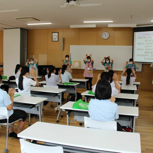 宮崎学園短期大学 夏のオープンキャンパス4
