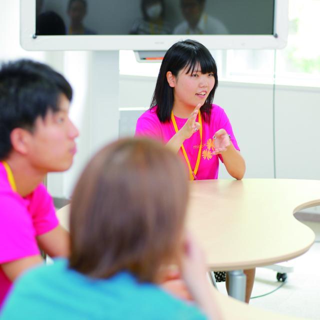 身延山大学 特別オープンキャンパス1