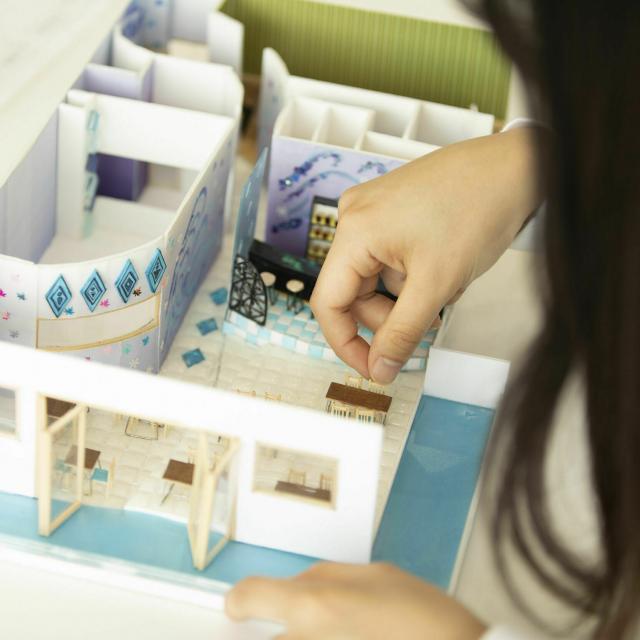国際理工情報デザイン専門学校 【授業体験会】対象:建築設計科1