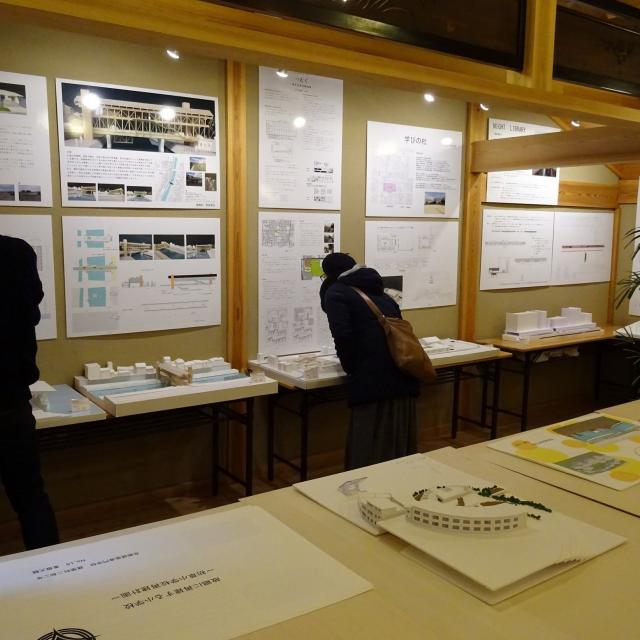 京都建築専門学校 オープンキャンパス+卒業制作展講評会見学1