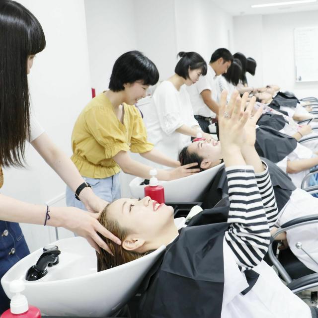 国際文化理容美容専門学校渋谷校 トライアルレッスン4