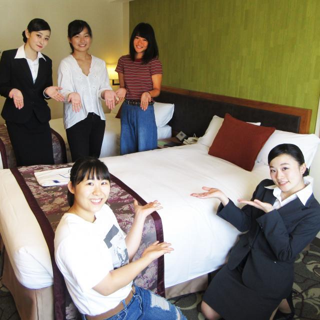 東京YMCA国際ホテル専門学校 ☆体験入学☆宿泊サービス授業編 2019☆2