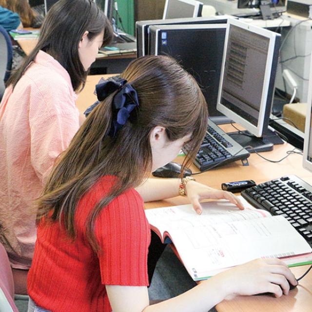 東京スクール・オブ・ビジネス 事務や経理の仕事に興味ある方!オフィスビジネス学科☆体験入学1