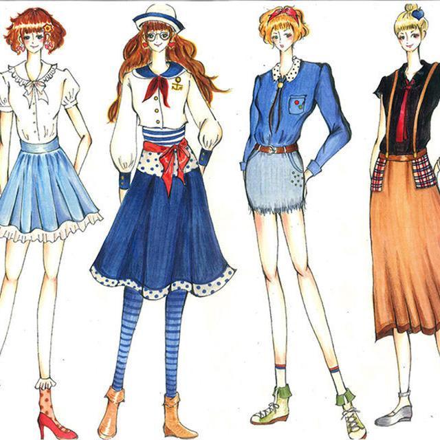大阪デザイナー専門学校 はじめてのファッションデザイン講座【体験入学】3