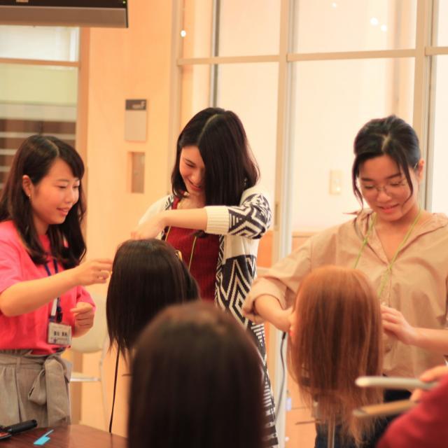 理容美容専門学校西日本ヘアメイクカレッジ オープンキャンパス委員スペシャル2