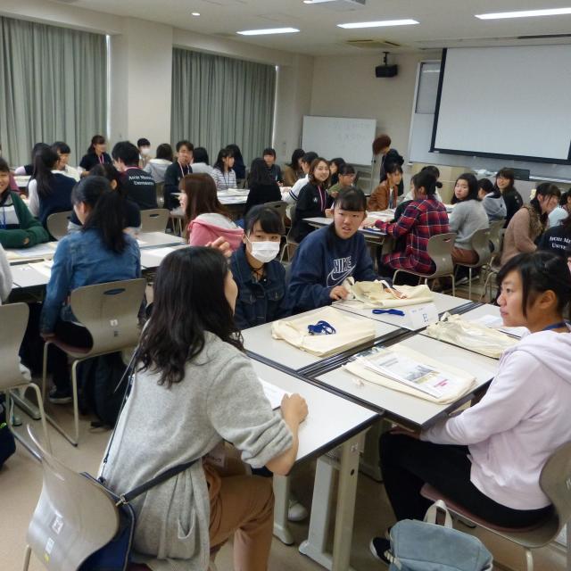 愛知医科大学 一日体験入学2