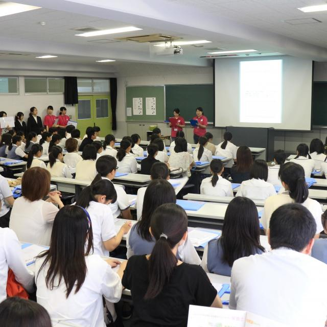 松山東雲女子大学 しののめオープンキャンパス1