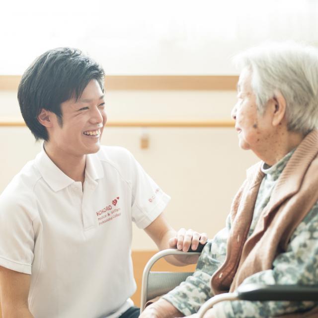 こころ医療福祉専門学校 一人ひとりに合わせたサポート 介護福祉士の職業体験!1