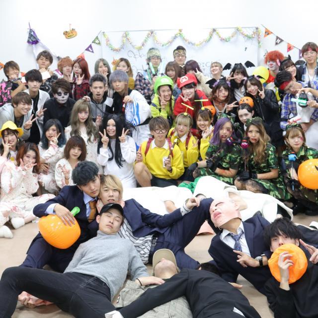 名古屋理容美容専門学校 10/26 在校生主催のハロウィンパーティー!3