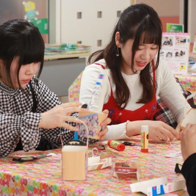 名古屋こども専門学校 選べる体験★ ひな祭り工作 or  ベビーマッサージ体験1