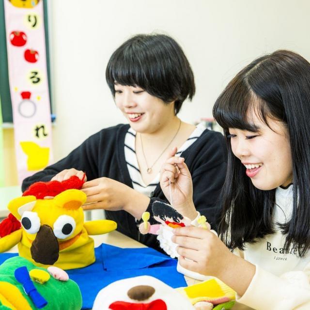 経専北海道保育専門学校 ☆おもちゃづくり&遊び☆体験1