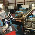 国際自動車・ビューティ専門学校 自動車整備士学科「ガラスコーティング」