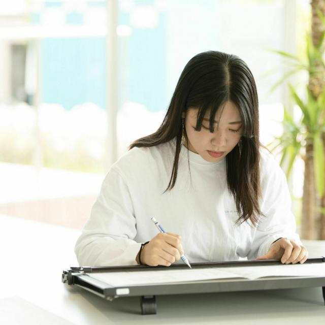 国際理工情報デザイン専門学校 【授業体験会】対象:建築設計科4