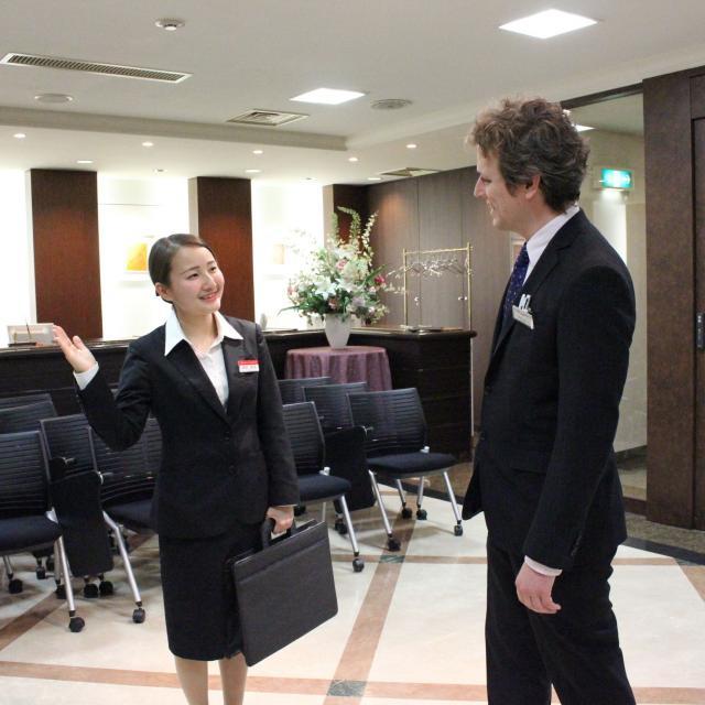 大阪ホテル専門学校 【海外ホテル】職業なりきり体験オープンキャンパス1