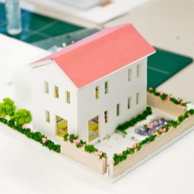 山形デザイン専門学校 【環境(建築)コース・模擬授業&体験実習】建築模型を作ろう!2