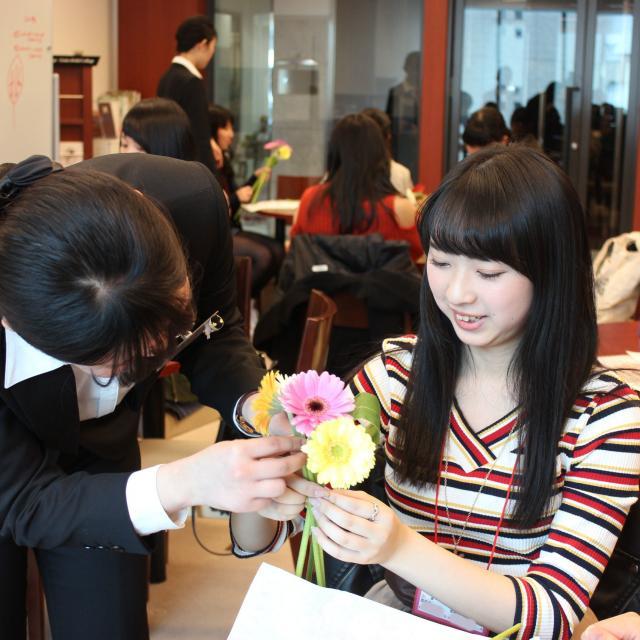 大阪ブライダル専門学校 【高校1・2年生対象】職業なりきり体験オープンキャンパス♪2