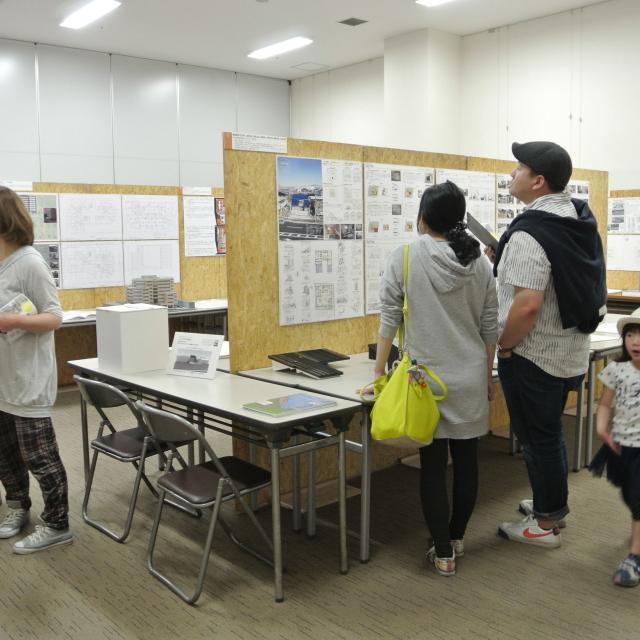 フェリカ建築&デザイン専門学校 けやきウォーク開催!!建築&インテリア作品展2