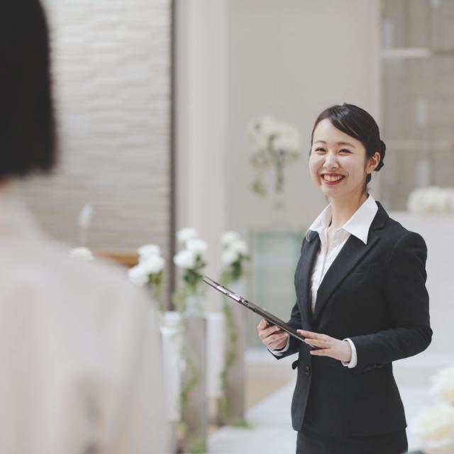 中村国際ホテル専門学校 【ブライダルコース】憧れのブライダルスタッフのお仕事体験1