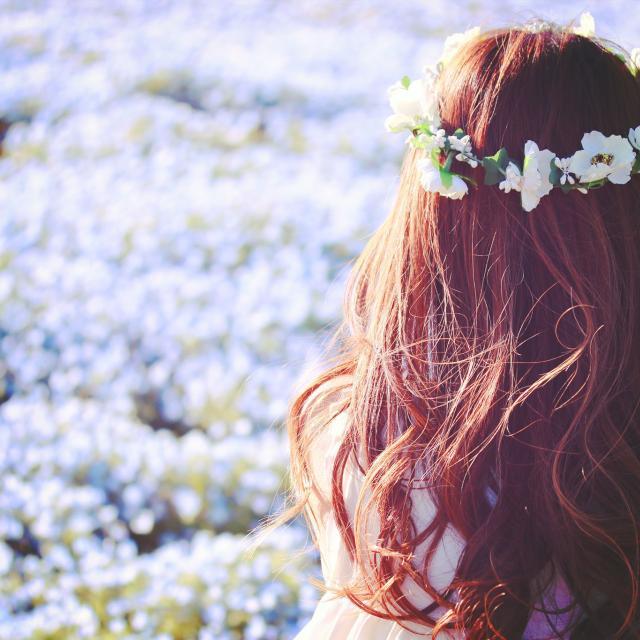 YICビジネスアート専門学校 3/26(火)【ホテルブライダル】花かんむりを作ろう1