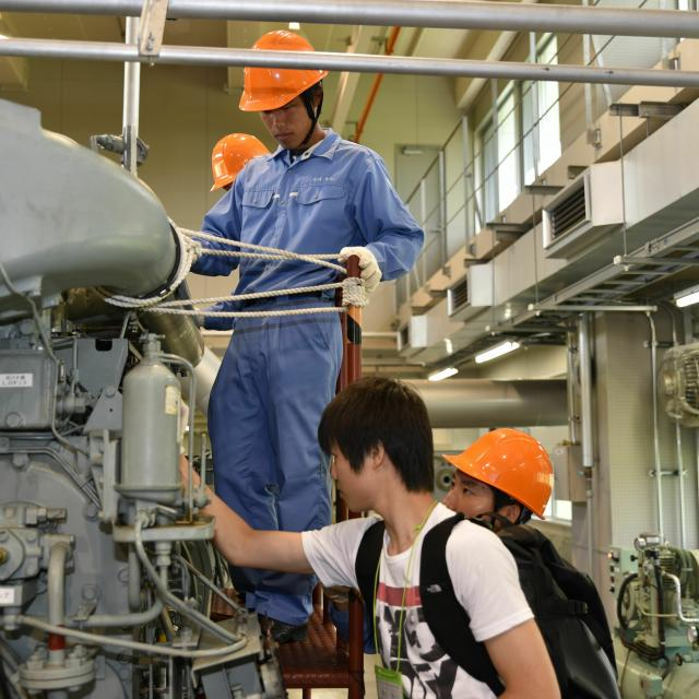 国立清水海上技術短期大学校 オープンキャンパス(体験型)3