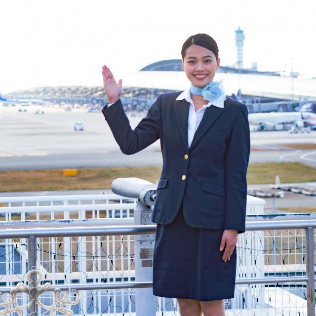 駿台観光&外語ビジネス専門学校 空港 仕事見学ツアー(関西国際空港)1