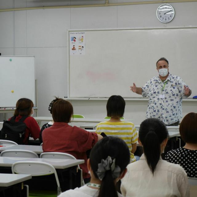 福岡外語専門学校 FFLCのオープンキャンパス♪3
