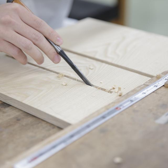京都伝統工芸大学校 工芸体験キャンパス2019 木工芸1
