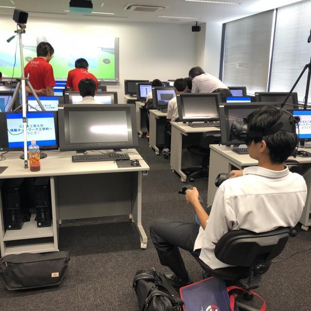 久留米工業大学 【情報ネットワーク工学科】2019オープンキャンパス!4
