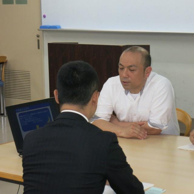 関東リハビリテーション専門学校 作業療法学科夜間見学会1