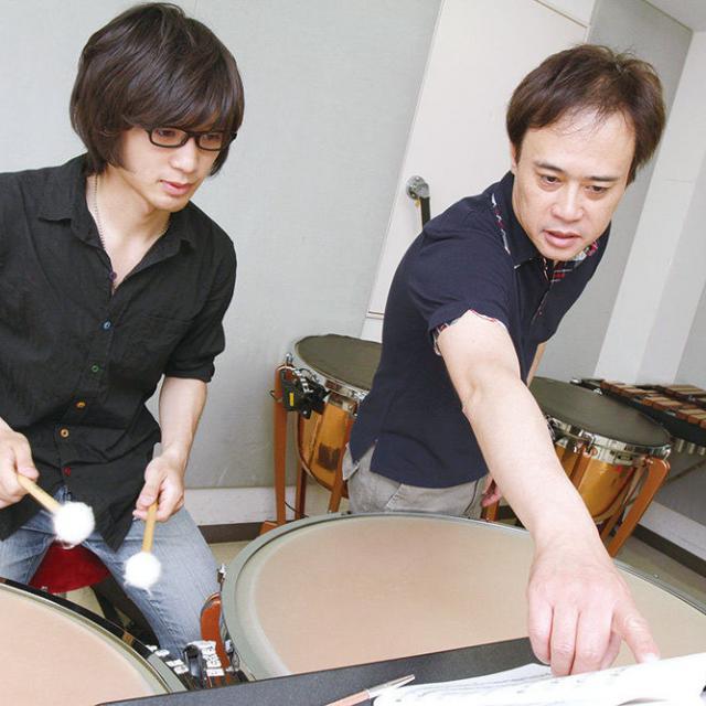 尚美ミュージックカレッジ専門学校 管弦打楽器の楽器別レッスンを受けよう1