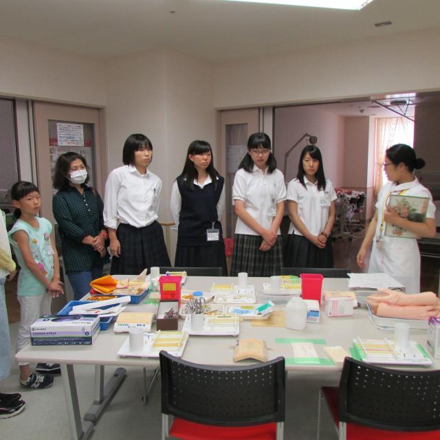 亀田医療技術専門学校 オープンキャンパス20183