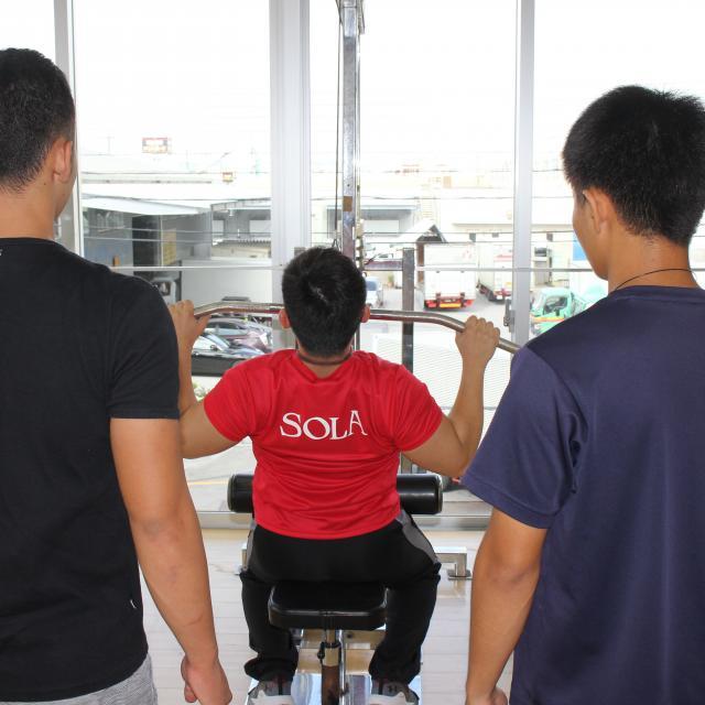 SOLA沖縄保健医療工学院 スポーツ科学CSトレーナー学科3