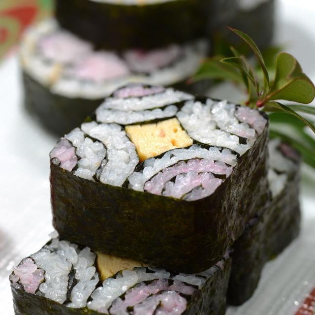 東京調理製菓専門学校 細工寿司と茶碗蒸し2