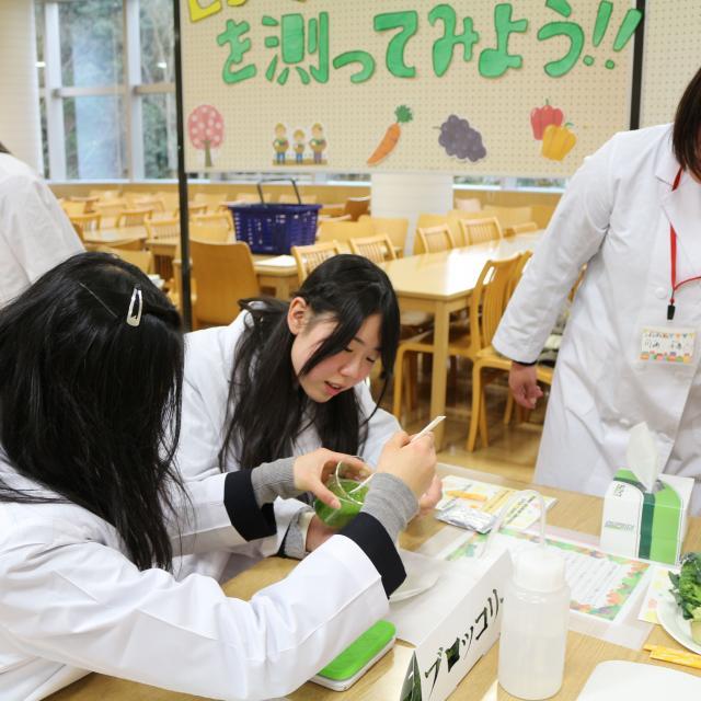 広島女学院大学 春のオープンキャンパス1