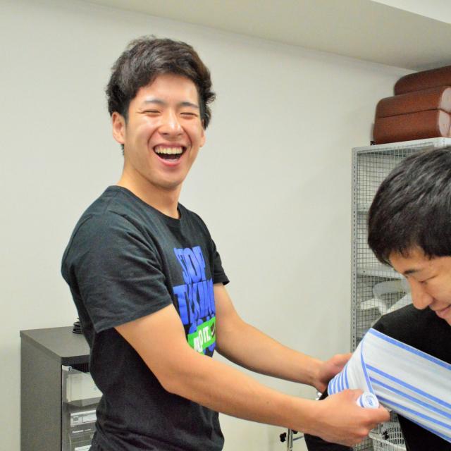 新宿医療専門学校 ☆柔整☆治療家テーピング講座~医療資格がトレーナーに活きる~3