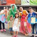 大阪保育福祉専門学校 子育てスクール&桜バザーのワークショップを体験!