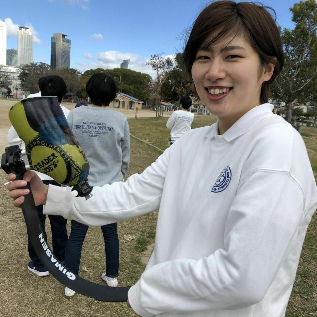 専門学校 日本聴能言語福祉学院 【義肢装具学科】スポーツ用義足の作り方を見学しよう!3