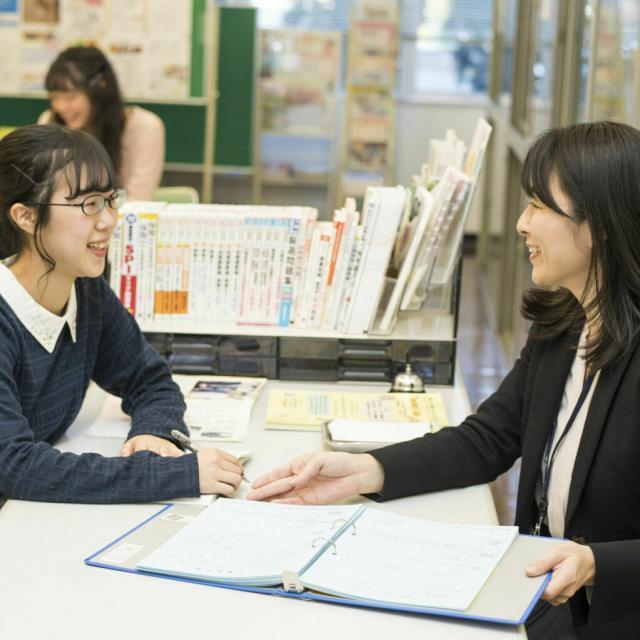 和泉短期大学 LINE で 個別相談4