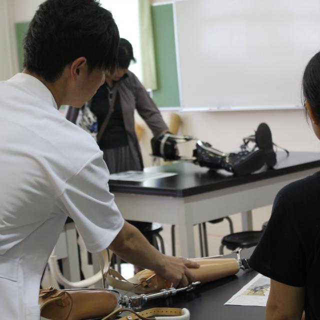 高崎健康福祉大学 【理学療法学科】夏のオープンキャンパス(特別講座参加なし)2