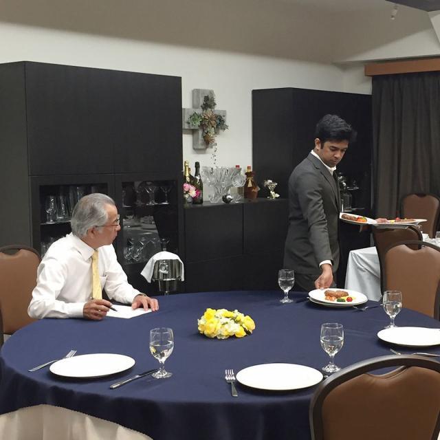 日本デザイン福祉専門学校 8/26(月)ホテルのお仕事体験3