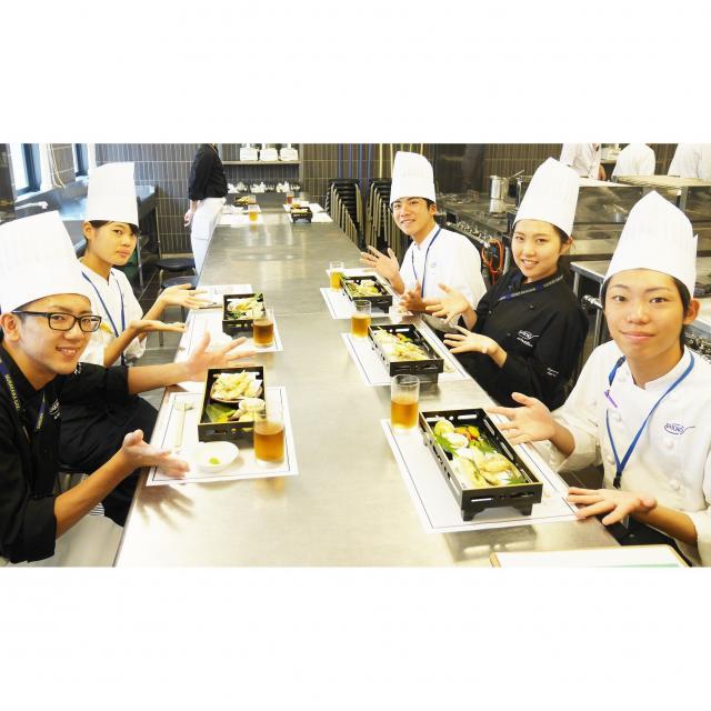 大阪調理製菓専門学校 【ecole UMEDA開催】旬魚のお造り+飾り切りマスター4