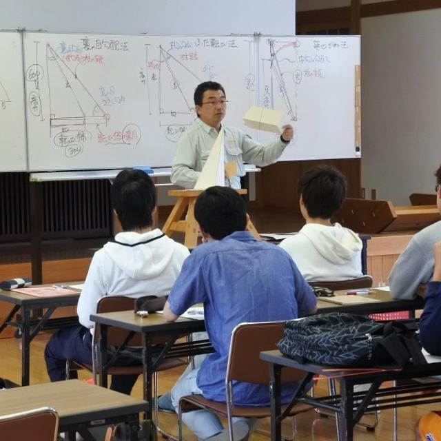 日本建築専門学校 学校見学会1
