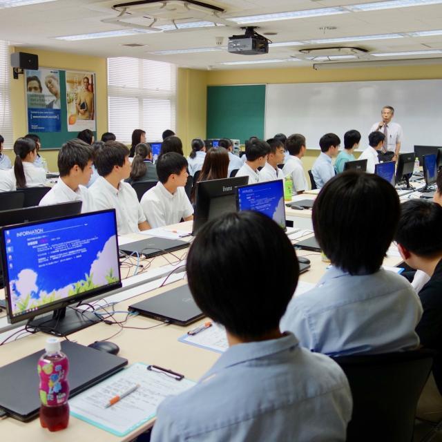 熊本電子ビジネス専門学校 オープンキャンパス(学校説明会)3