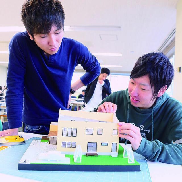 青山建築デザイン・医療事務専門学校 【建築学科】オープンキャンパス Aメニュー4